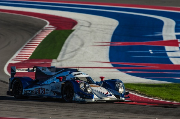 Dyson Racing could not prevent the Muscle Milk HPD from taking their 7th win of the season (Photo: COTA)