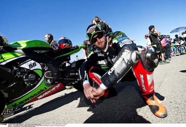 Tom Sykes extended his title lead at Laguna Seca