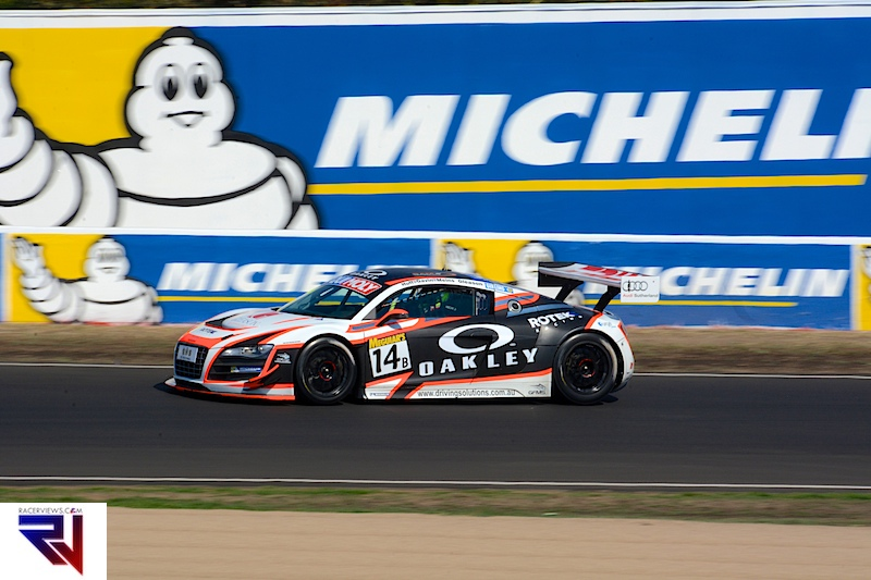 Olly Gavin, along with Rob Huff, Richard Meins and Richard Glasson were quick in Class B at the Bathurst 12 Hour but a broken valve spring ended their day