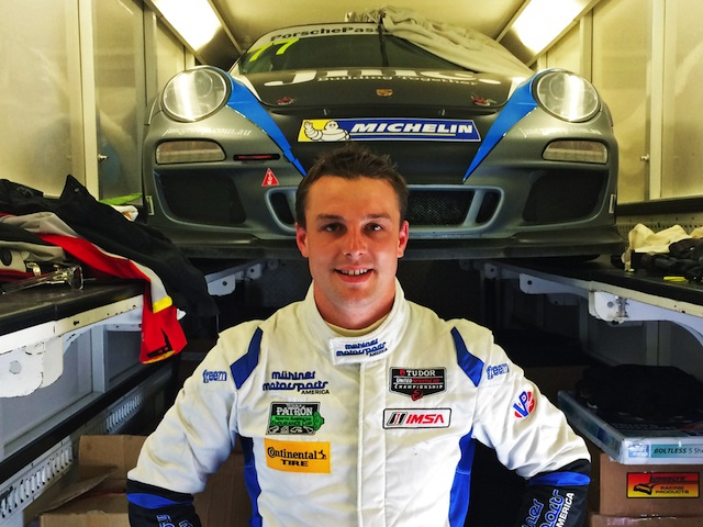 Earl Bamber will be racing Porsches all year, all over the world this year