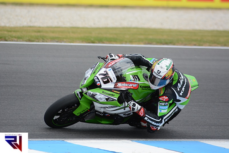 Kawasaki's Loris Baz will start from seventh and top Kawasaki for the opening WSBK round