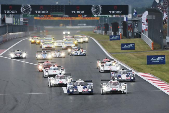 The opening laps of the FIA WEC from Fuji were thrilling (photo: Toyota)
