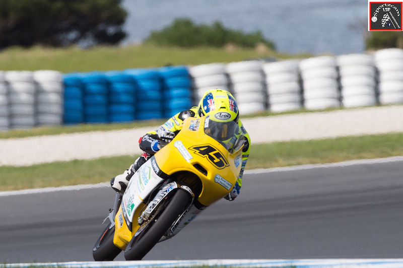 Olly Simpson is a massive young Australian talent, on show at Phillip Island