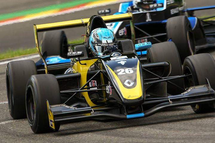 Australia's James Allen has taken on the Formula Renault 2.-0 Europcup and ALPS Championships