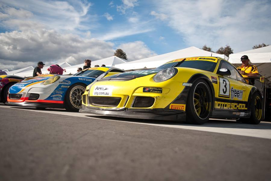 Ben Foessel and the Motor School Porsche took out the Challenge Class Championship in the Australian GT