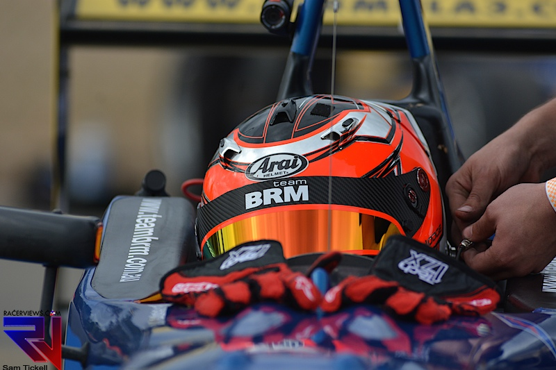 Simon Hodge was become the 2014 Australian F3 Championship and the Gold Star winner