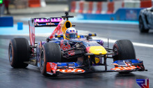 Perth Speedfest - Daniel Ricciardo in the Red Bull Renault