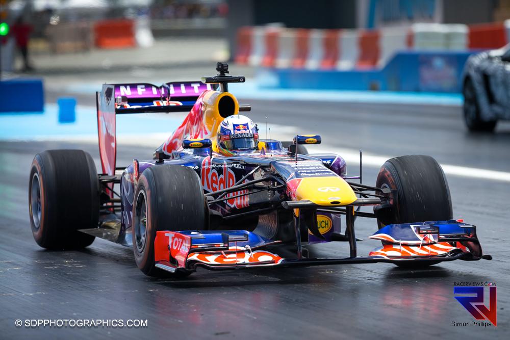 Perth Speedfest - Daniel Ricciardo in the Red Bull Renault