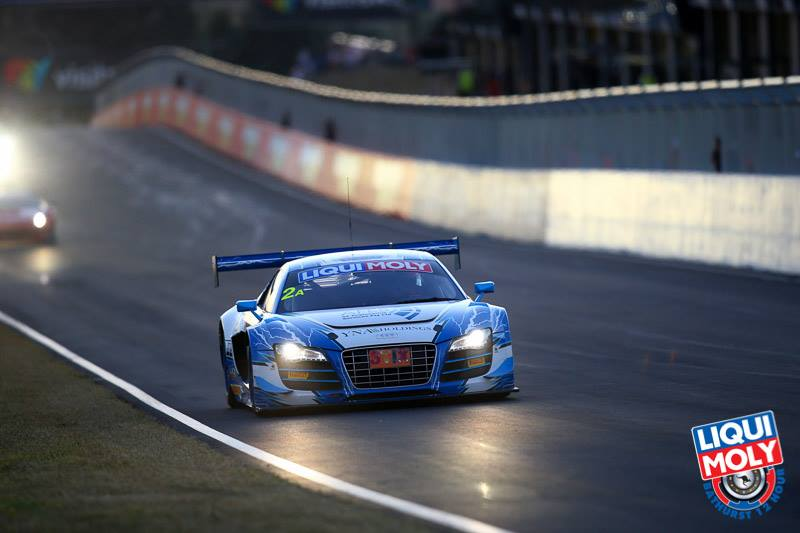 Matt Halliday competed in the Fitzgerald Audi at last year's Bathurst 12 Hour (photo: Bathurst 12 Hour)