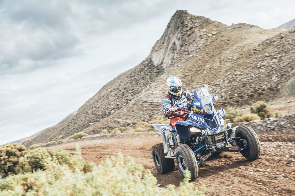 Marcos Patronelli (ARG) from Yamaha Racing performs during stage 4 of Rally Dakar 2016 from Jujuy to Jujuy, Argentina on January 6, 2016. Photographer Credit Flavien Duhamel/Red Bull Content Pool
