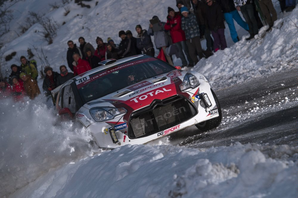 Quentin Gilbert (FRA) competes during the FIA World Rally Championship 2016 in Monte Carlo, Monaco on January 22, 2016 Photographer Credit Jaanus Ree/Red Bull Content Pool