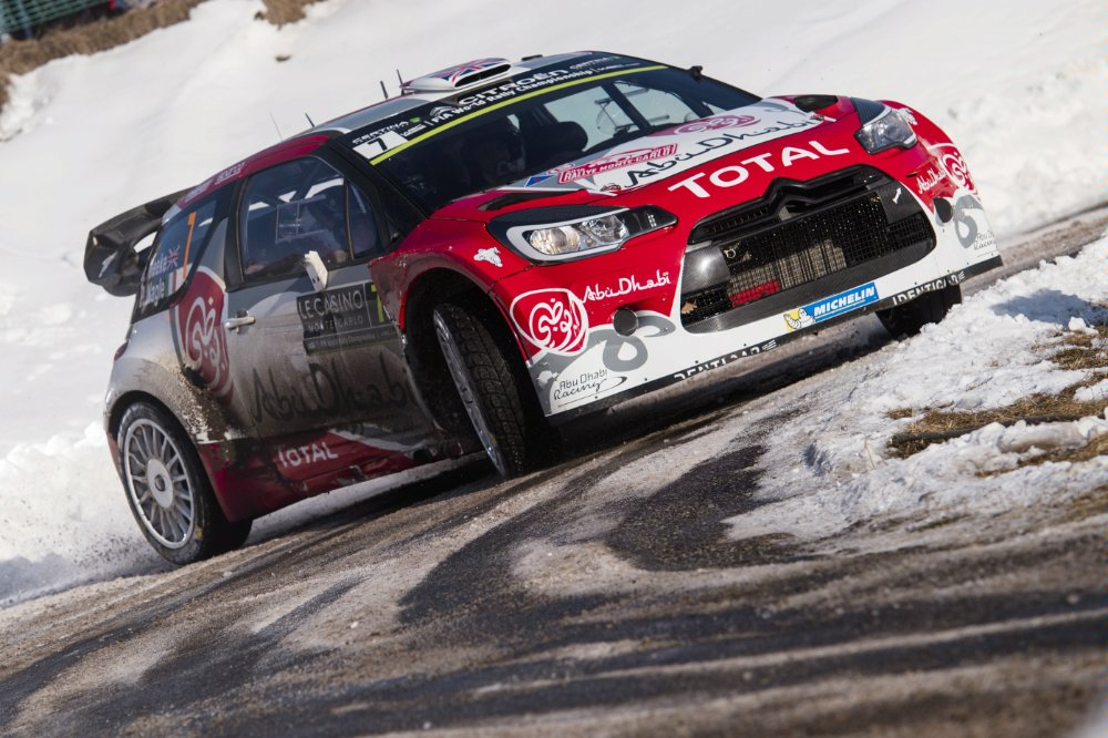 Kris Meeke (GBR) competes during the FIA World Rally Championship 2016 in Monte Carlo, Monaco on January 23, 2016 Jaanus Ree/Red Bull Content Pool