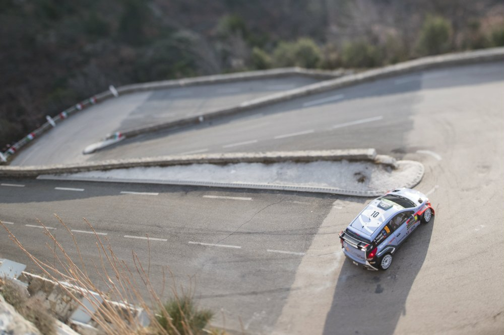 Hayden Paddon (NZL) competes during the FIA World Rally Championship 2016 in Monte Carlo, Monaco on January 24, 2016 Photographer Credit Jaanus Ree/Red Bull Content Pool