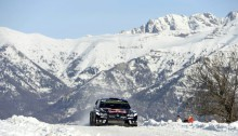 Sebastien Ogier (FRA) competes during the FIA World Rally Championship 2016 in Monte Carlo, Monaco on January 23, 2016 Photographer Credit     @World / Red Bull Content Pool
