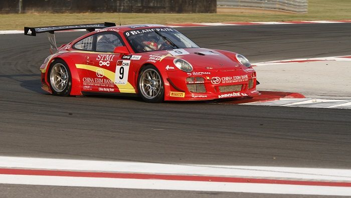 The Team China entry was Matt Halliday's home in the GT1 World Series where he scored one win (photo: Matt Halliday)