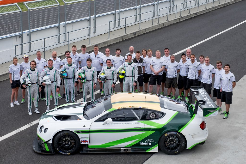 David Russell is joining a crack team in the Bentley for the Bathurst 12 Hour (photo: Bentley)