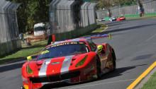 Vicious Rumour Racing - Ferrari 488 GT3. Andrea Montermini/ Benny Simonsen Photo: Grand Prix Media