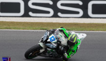 Ant West took a podium in the WorldSSP at Phillip Island in his wildcard race