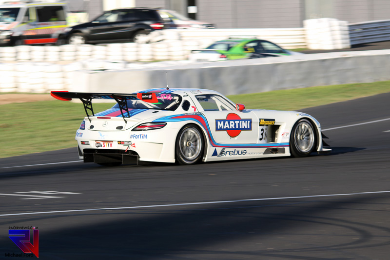 It wasn't the race that Renger van der Zande hoped for in this years Bathurst 12 Hours