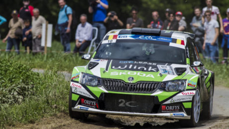 10 LOIX Freddy and GITSELS Johan SKODA Fabia R5 action during the 2016 European Rally Championship ERC Ypres Rally,  from June 23 to 25  at Ypres, Belgium - Photo Thomas Fenetre / DPPI