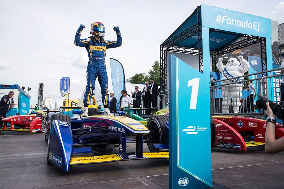 Buemi took out the Formula E Championship just weeks after the heartbreaking Le Mans defeat