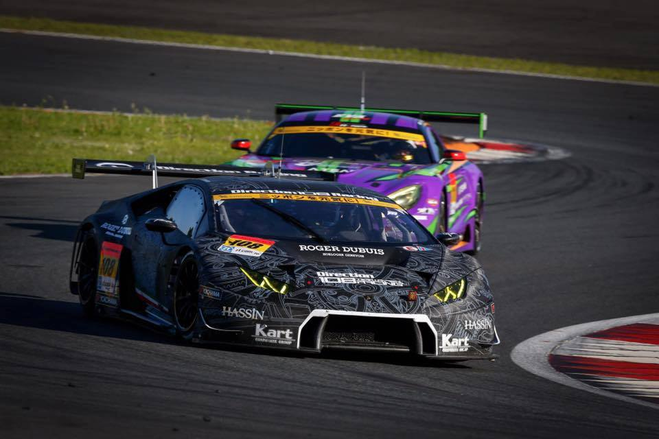 Jono Lester's ride for the SuperGT test