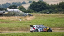 Sebastien Ogier (FRA)  performs during  FIA World Rally Championship 2016 Germany in Trier , Germany on August 20, 2016