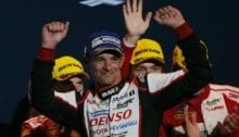 Sarrazin was able to take a hard fought win with Toyota at WEC's Fuji round