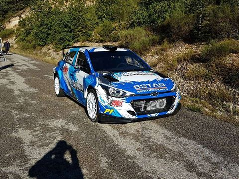 It was also an outing in the Tour de Corse for Stephane Sarrazin before Fuji but he was in the brand new Hyundai i20 R5