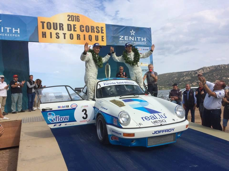 Romain Dumas took out the Tour de Corse Historique before travelling to the 6 Hours of Fuji