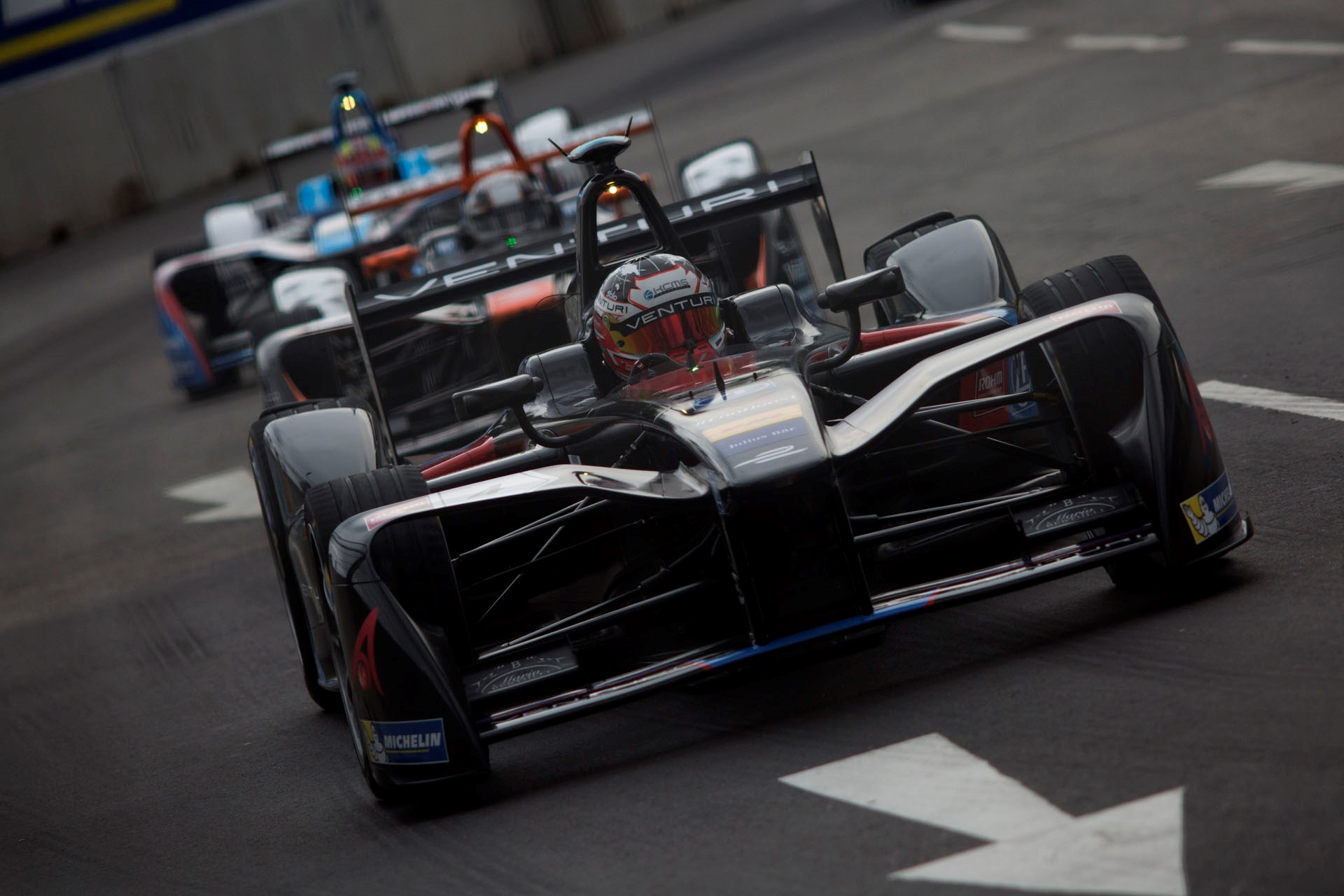 After scoring an impressive 6th in Formula E last year, Stephane Sarrazin is back with Venturi and hopes to maintain the form Photo: FIA Formula E