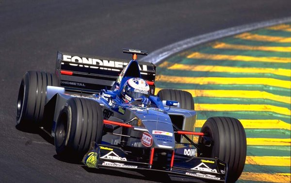 Stephane Sarrazin had one grand prix with Minardi but his F1 career was scuppered after being snubbed by the Prost team Photo: unknown via Twitter