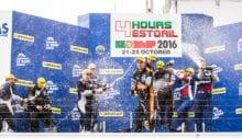 Podium for the 4 Hours of Estoril at Estoril - Circuito Estoril - Estoril - Portugal