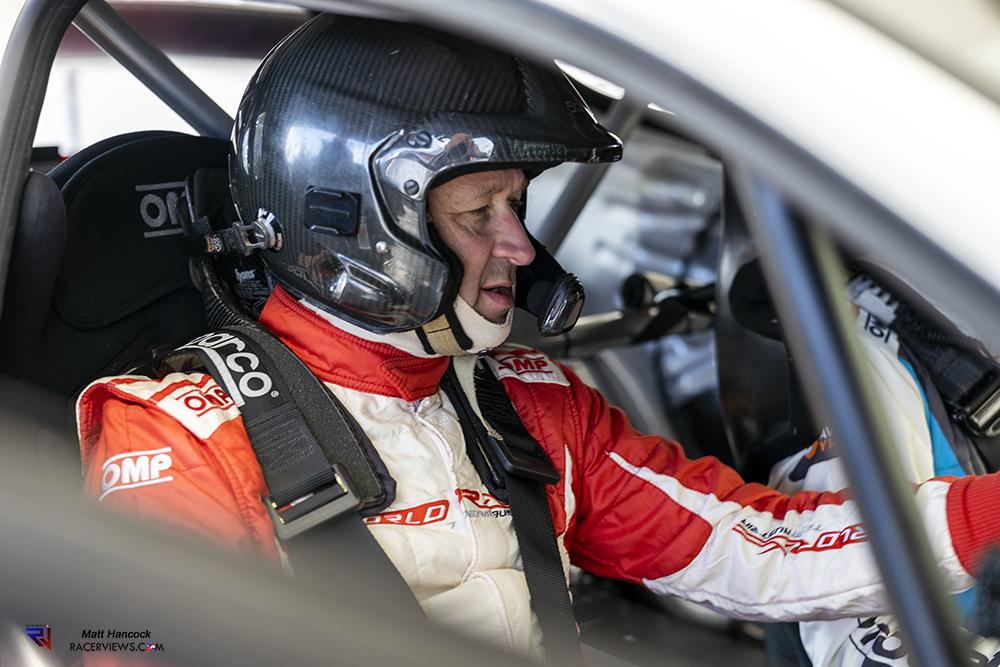 Manfred Stohl Stard ERX Media day Lydden Hill British Rallycross